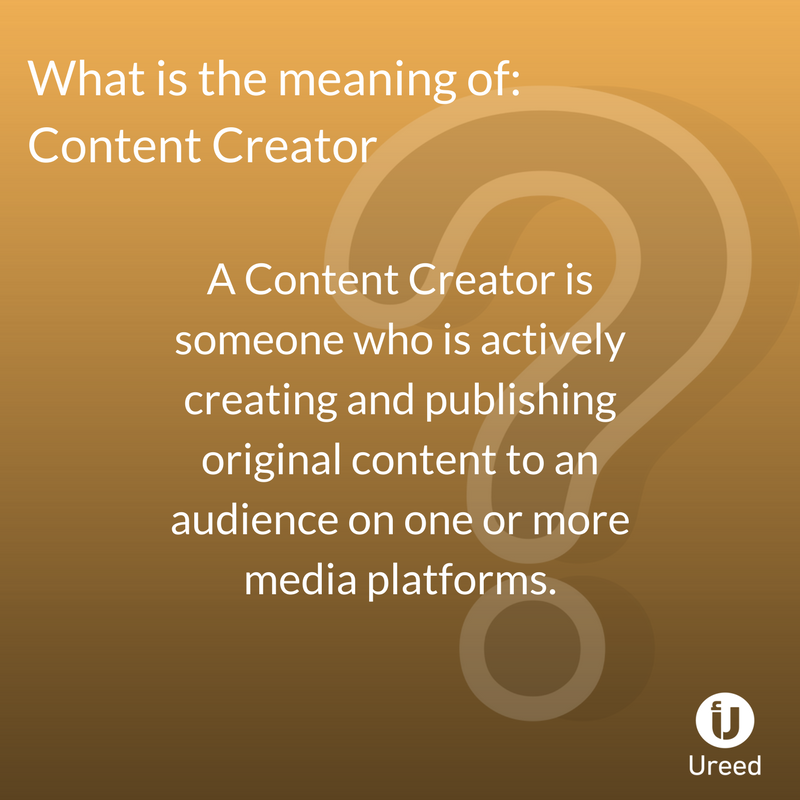 Ureed Com On Twitter What Is The Meaning Of Content Creative Fyi Ureedarabia