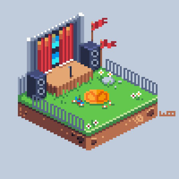 A quick iso #Stage for #pixel_dailies  @Pixel_Dailies @PyxelEdit #pixelart #gameart<br>http://pic.twitter.com/vqmujS3BJt