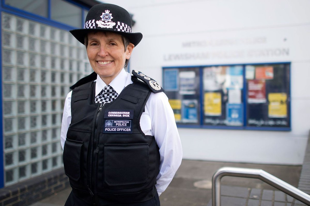 Meet Cressida Dick, the woman in charge of keeping London safe – https://t.co/QSuYyH5uND