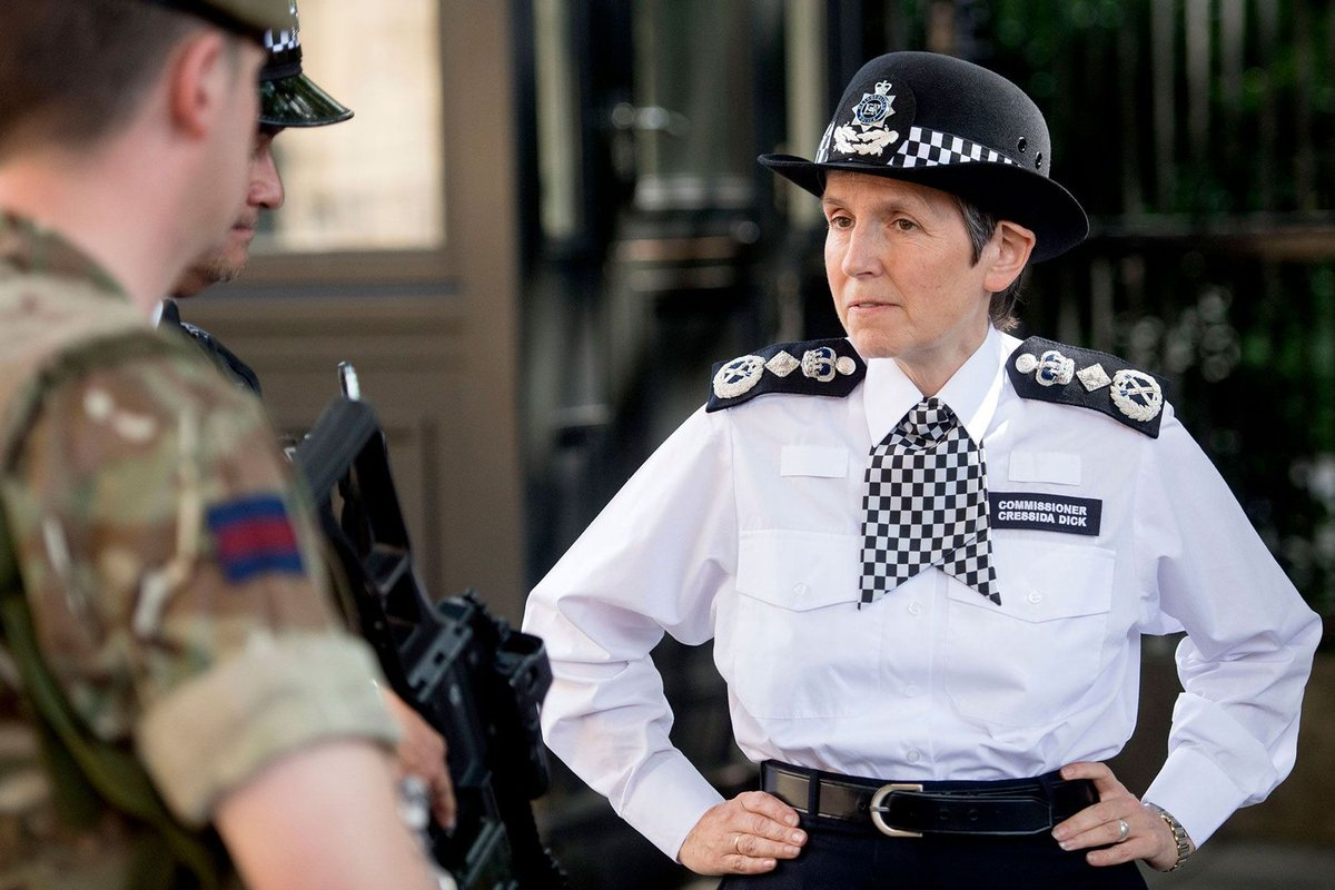 Her first three months as Met Police commissioner have been eventful - we profile the indomitable Cressida Dick: https://t.co/QSuYyH5uND