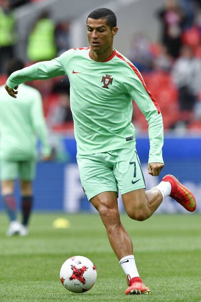 رونالدو يسجل الهدف الأول للبرتغال فى شباك روسيا