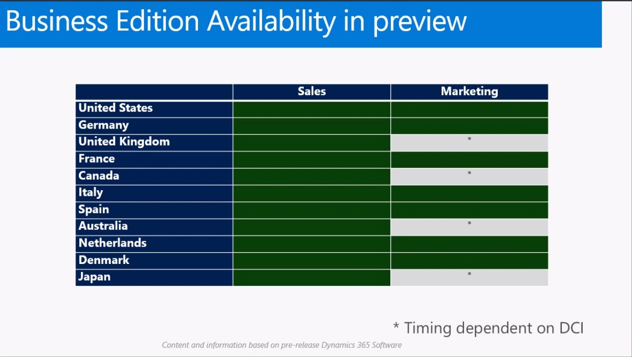 Business Availability Preview: @MSDynamicsCRM  #msdyn365 https://t.co/6taflhJ0ja