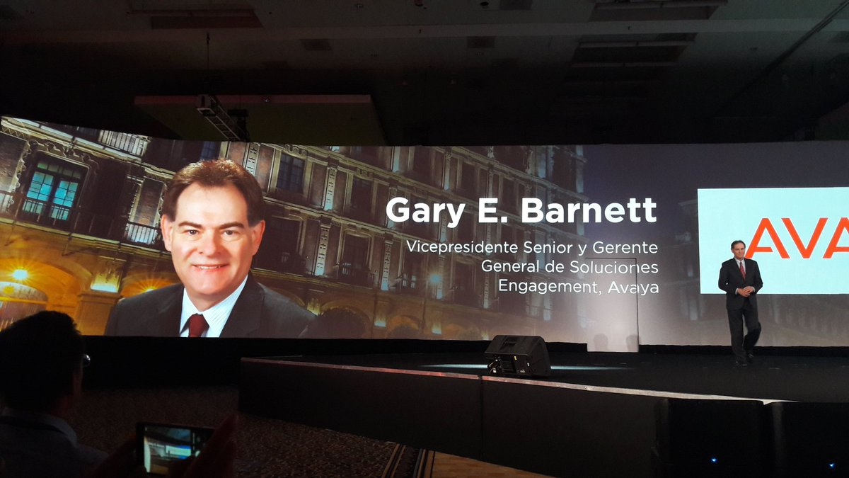 #AvayaEngage #SVP Experience is everything <br>http://pic.twitter.com/3dJamm4zks