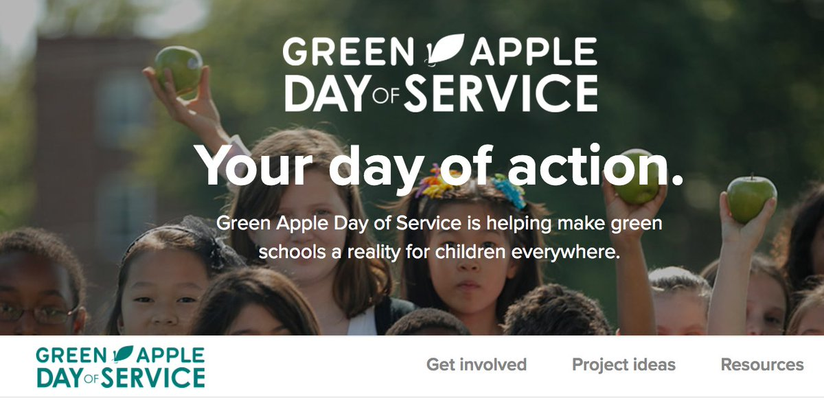 Working with my @USGBC team to reinvent our #web presence is a job highlight. Check out our #GreenAppleDay relaunch:  http:// greenapple.org  &nbsp;  <br>http://pic.twitter.com/ansPsrLaLY
