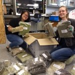 Our first shipment of new plant samples from my summer fieldwork arrived in #QuaveLab today! Students excited to get work on extractions!