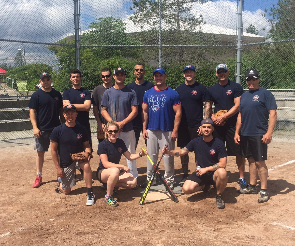 #Toronto Fire Services #Rob Penney Slo-Pitch Tournament benefitting #Princess Margaret Cancer Centre #OFS<br>http://pic.twitter.com/QhBK6a5G2f