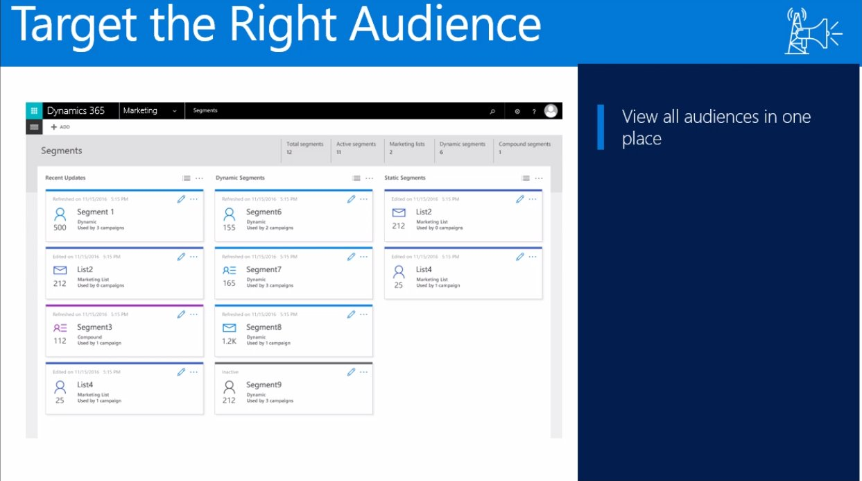 New Entity called Segment in Business Edition @MSDynamicsCRM  #msdyn365 https://t.co/8LbXMBIAEo