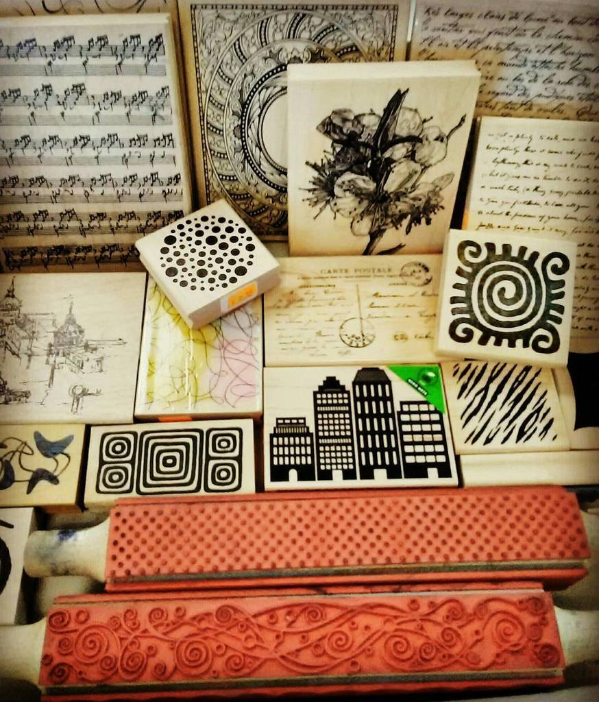 The Scrap Box On Twitter Stamps Make Unique Party Invitations Or