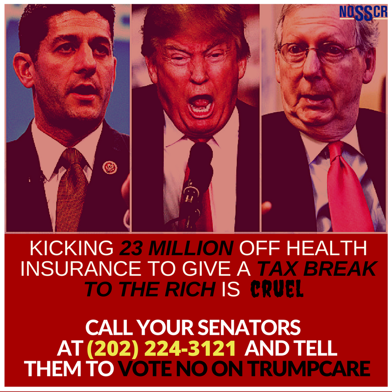 Going after the health care coverage of low income families and people w/ disabilities is CRUEL. Call your Senators and tell them 2 vote NO. https://t.co/vnbGlF7LSR