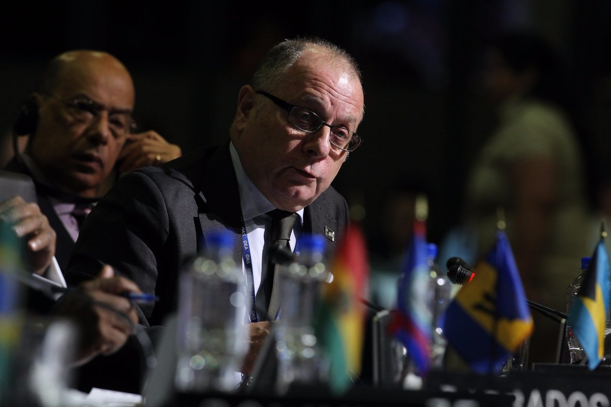 #AsambleaOEA aprueba por aclamación declaración sobre la cuestión de l...