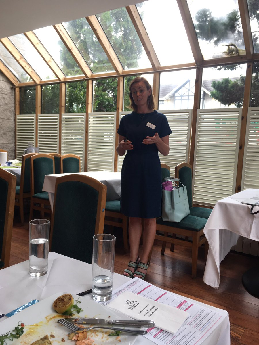 &#39;Get to the gate&#39; is the first step to a healthy start. Feeling inspired and motivated @darinamulligan at #WIBN #Goatstown today @WIBNIntl<br>http://pic.twitter.com/dX4yDah2n5