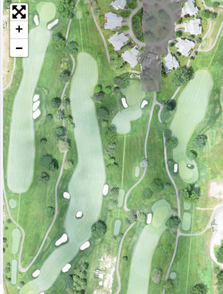 Great to talk to the #agronomy team @TravelersChamp with @TurfCloud. The course looks amazing!<br>http://pic.twitter.com/pqhU0aYzXL &ndash; bij TPC River Highlands