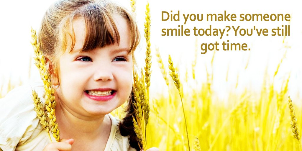 Did you make someone smile today? You've still got time. #quote   #Wed...