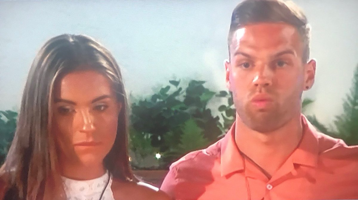 When you thought you were the winning couple but actually the public wasn't feeling it