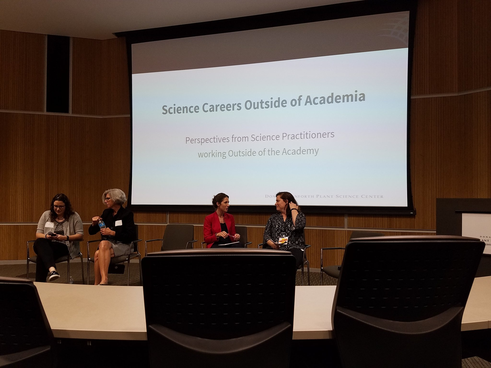 Next up, Careers in Industry Panel @DanforthCenter #icar2017 #TPCOnTheRoad @ThePubClub https://t.co/yyUDhT58og