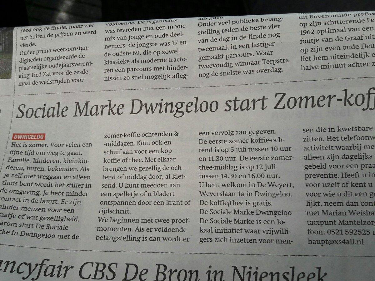 De Weyert Dwingeloo.Zzwd Hashtag On Twitter