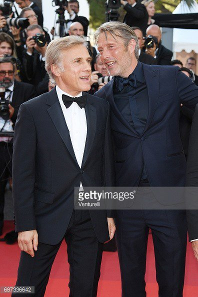 #MadsMikkelsen and #ChristophWaltz  - 70th edition of the Cannes international film  festival in #Cannes. May 23, 2017. <br>http://pic.twitter.com/Ilo1kJGlO4
