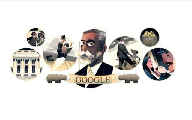 >@EstadaoLink: Google faz homenagem a Machado de Assis no doodle do dia https://t.co/wLJj0A26hW