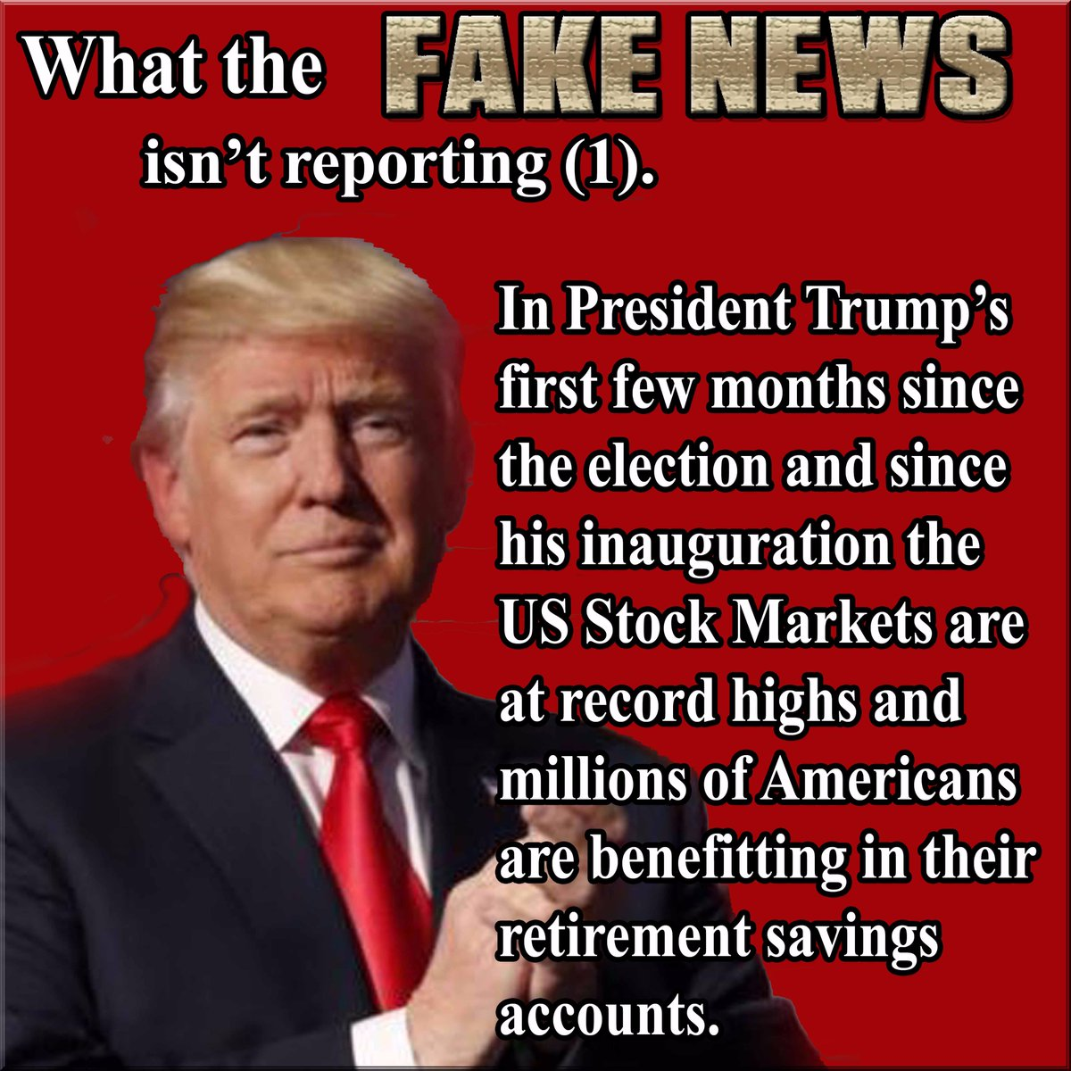 . #WednesdayWisdom #WednesdayMotivation #Trump While #msm obsesses over a conspiracy @potus working hard for #AmericaFirst #WakeUpAmerica<br>http://pic.twitter.com/WWsxqGgPmN