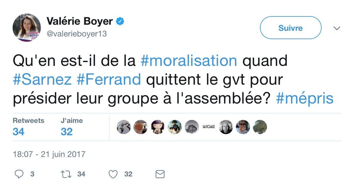 """Qu'en est-il des """"pudeurs de gazelle"""" de #LesRépublicains, quand ni #Fillon ni #Balkany ni #Sarkozy ni #Gueant n'ont été exclus du parti ?pic.twitter.com/pt9eaxgEH8"""