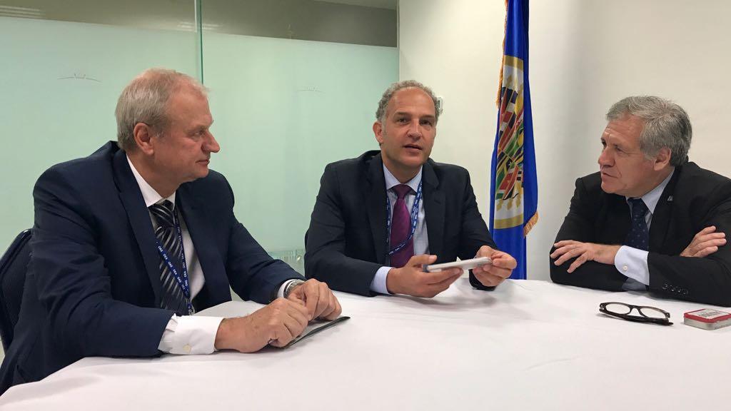 Meeting with Ambassdor Zoran Vujić, Political Director of MFA Serbia o...