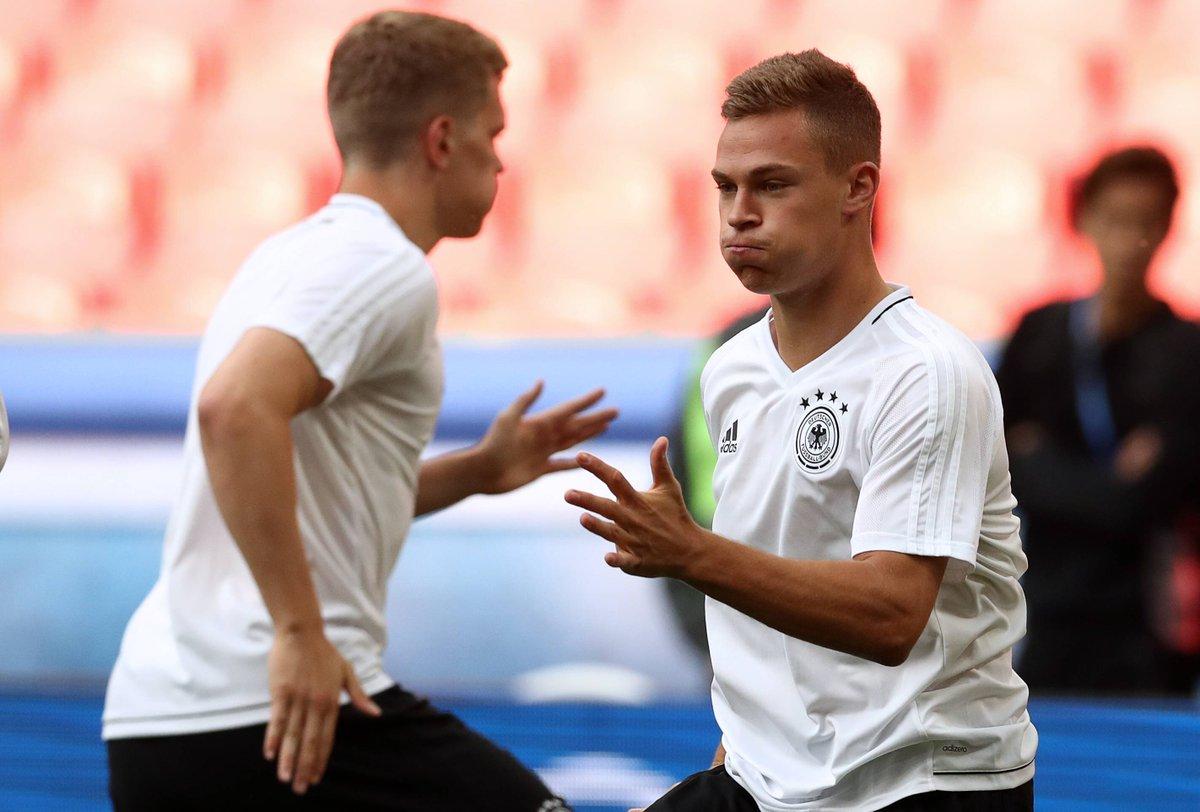 Joshua #Kimmich beim Training mit dem @DFB_Team vor #GERCHI. 👍 #MiaSan...