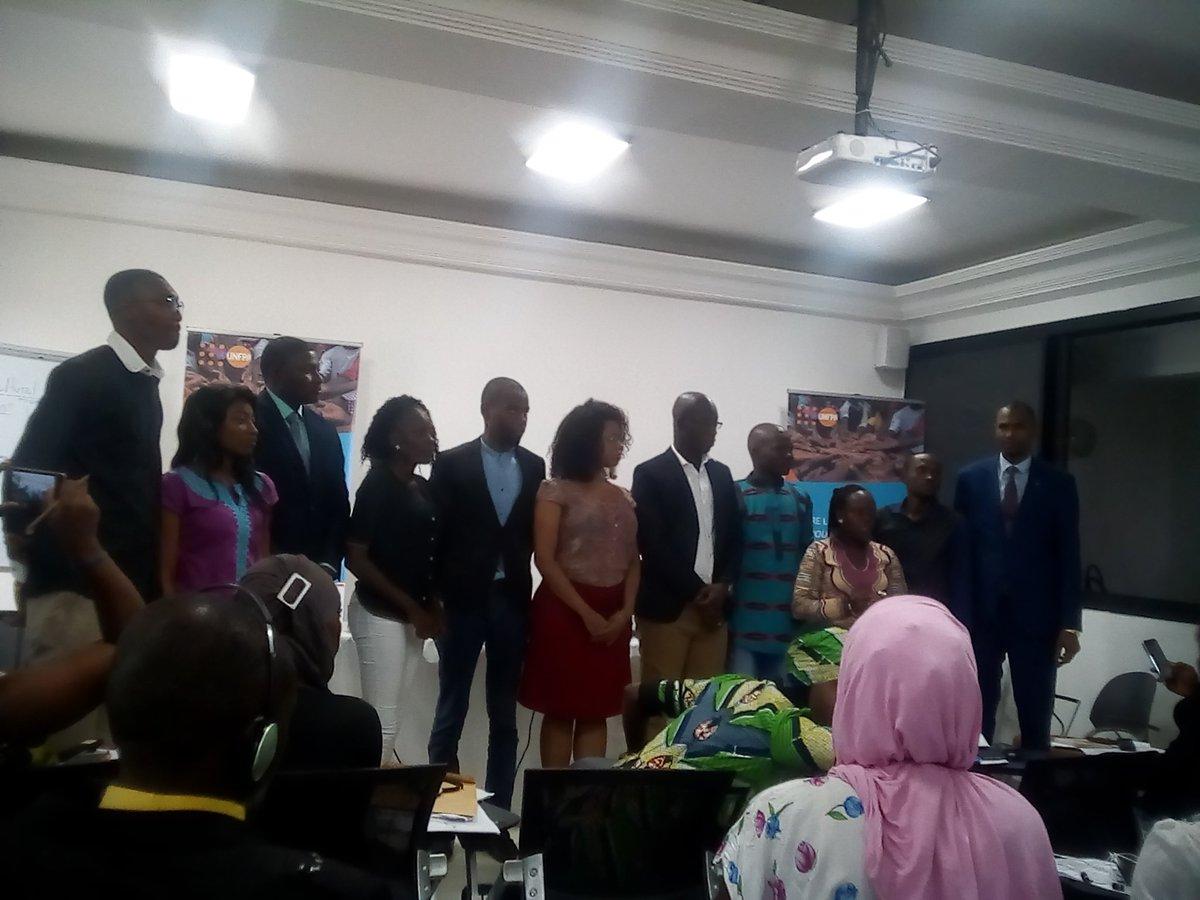 Newly elected #AfriYAN executives Dakar #senegal #putyoungpeoplefirst @cmghana @edithasamani @AttoplMartin @ghanabakwamena @UNFPAGHANA<br>http://pic.twitter.com/wJd9HEEYEm