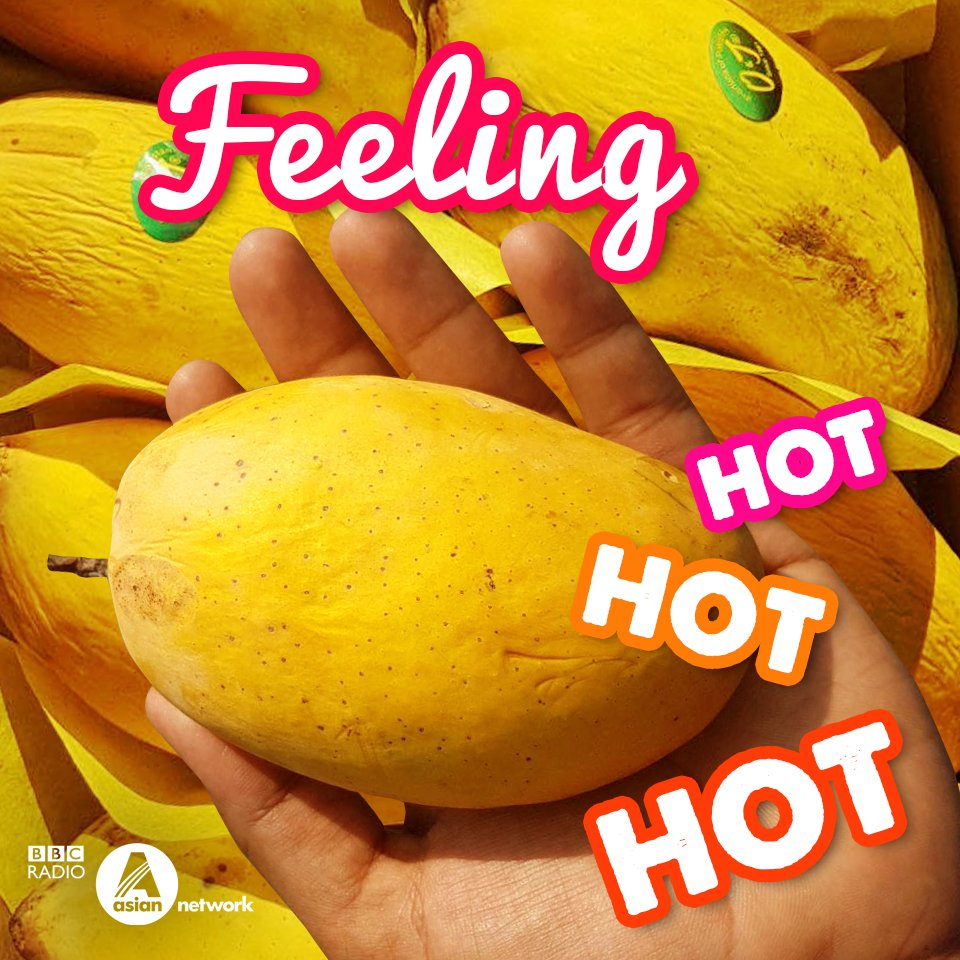 ☀️😎🌴 Feeling the heat? Tag a friend who wants to eat a mango tonight?! #heatwave #iftar #feelinghothothot