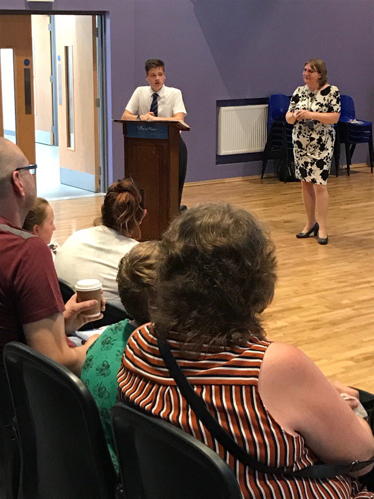 The Head Boy addressing students and parents at our Open Evening. #Aspire #Endeavour #Succeed<br>http://pic.twitter.com/ECdAOPpZcA