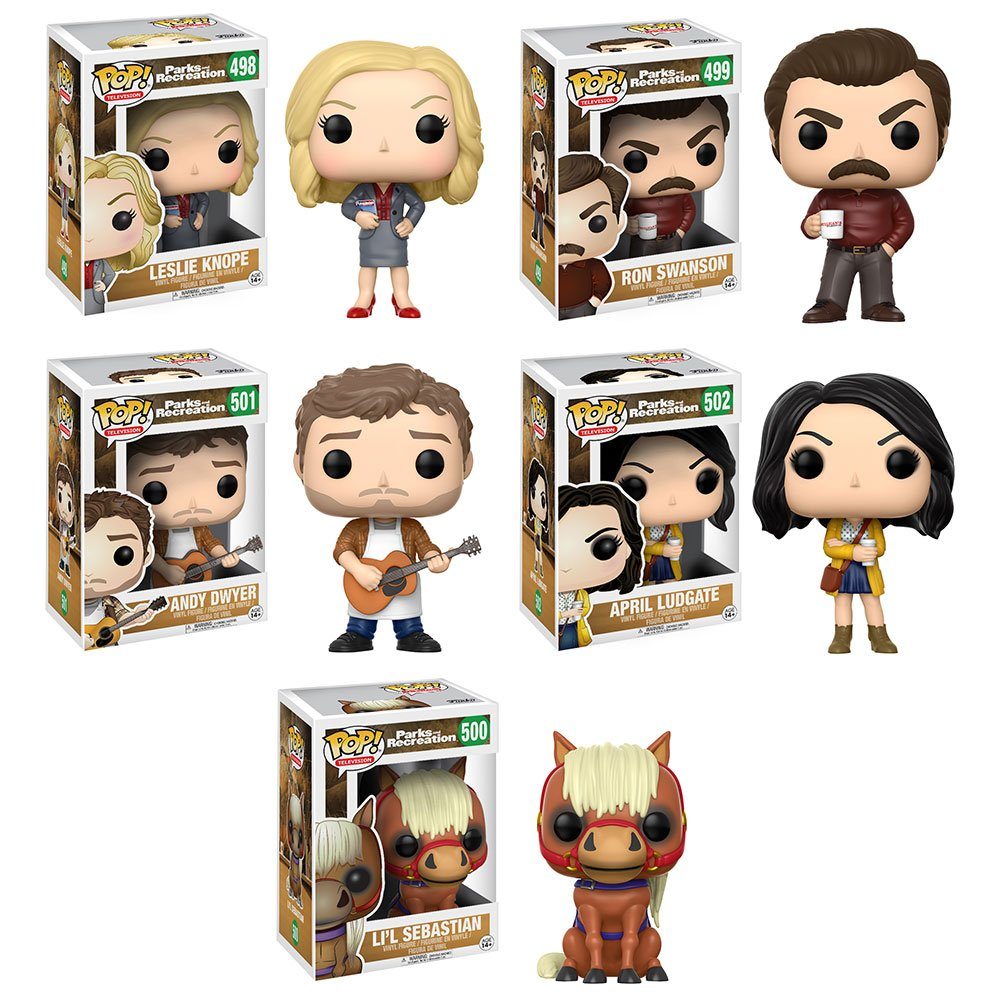 RT & follow @OriginalFunko for the chance to win a Parks and Recre...