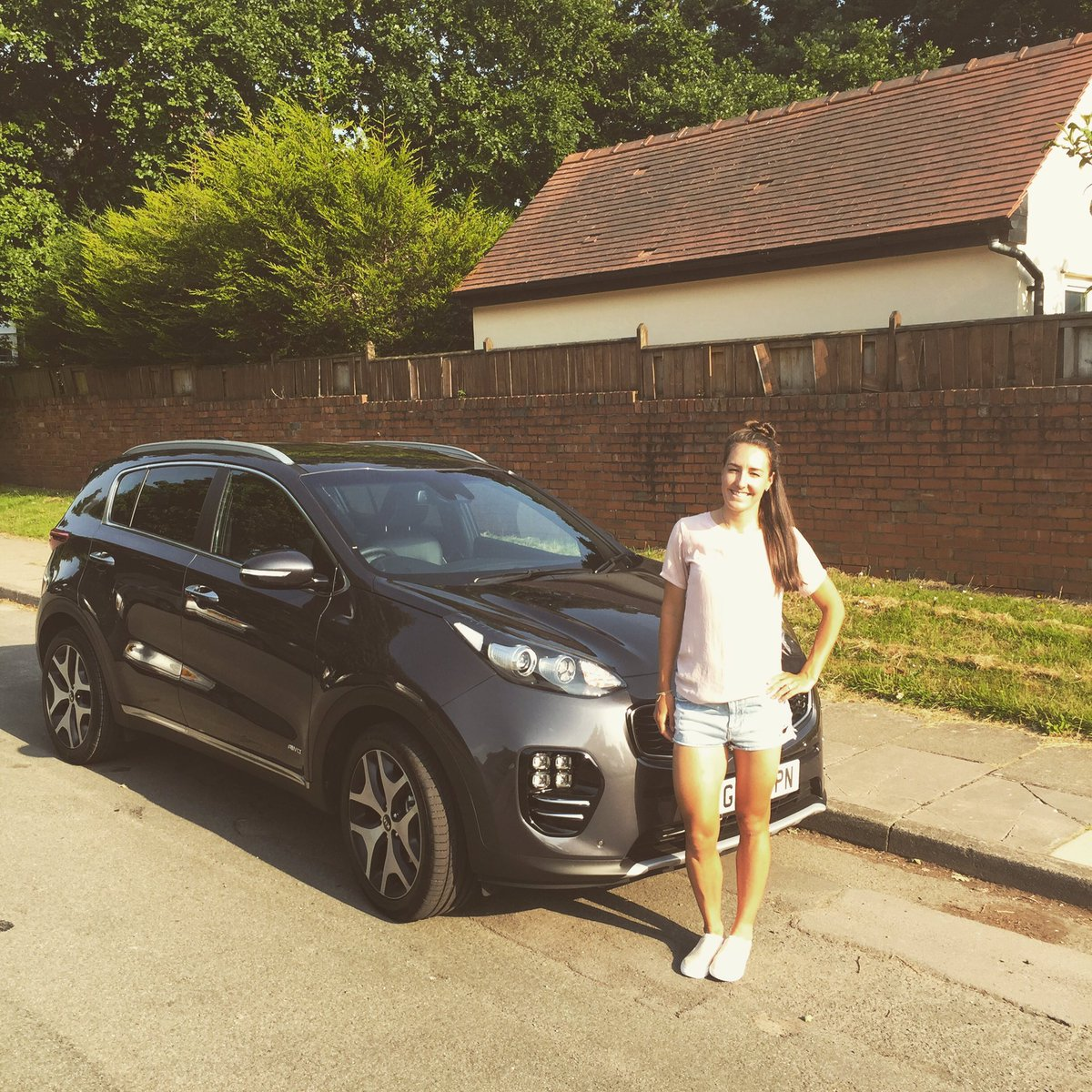 BEEP BEEP!!! NEW CAR DAY 🚘🚘  Thank you @hendygroup just what I need before my journey to the IOM for the nationals. #kiasportage #nationals