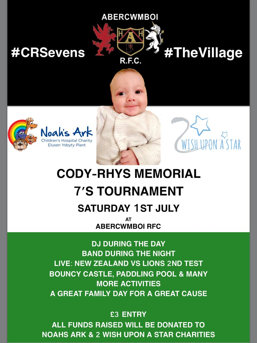 10 days to go til #CRSevens Entertainment all day for adults &amp; kids! You won&#39;t want to be anywhere else 1st July #RugbyFamily #TheVillage<br>http://pic.twitter.com/lHrf024OCe