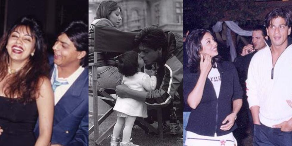 7 Unseen Photographs of Gauri and Shah Rukh Khan That'll Restore Your Faith in Love: https://t.co/0AiZgHBBeF