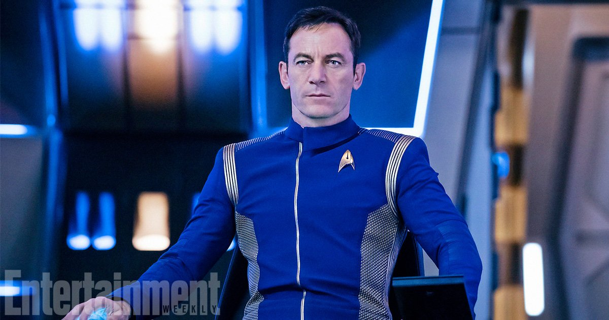 Our first look at Jason Isaacs as #StarTrekDiscovery's Captain Lorca h...