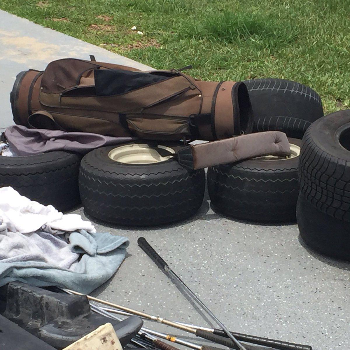 Police find golf cart chop shop during drug bust in retirement community