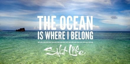 The #Ocean Is Where I Belong  #SaltLife<br>http://pic.twitter.com/tgWJoKAN4f