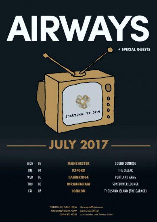 Airways headline 5 date UK tour in early July. #PressRelease   http:// bit.ly/2tOSZ8u  &nbsp;  <br>http://pic.twitter.com/LQ2z9xX8VG