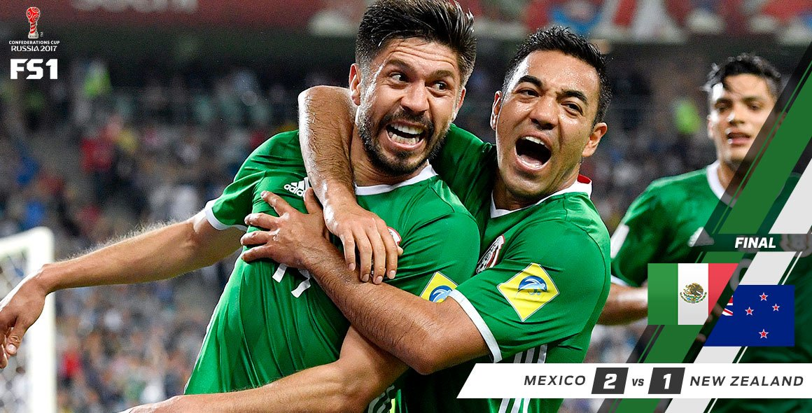 Mexico come back from a halftime deficit to top the group and eliminat...
