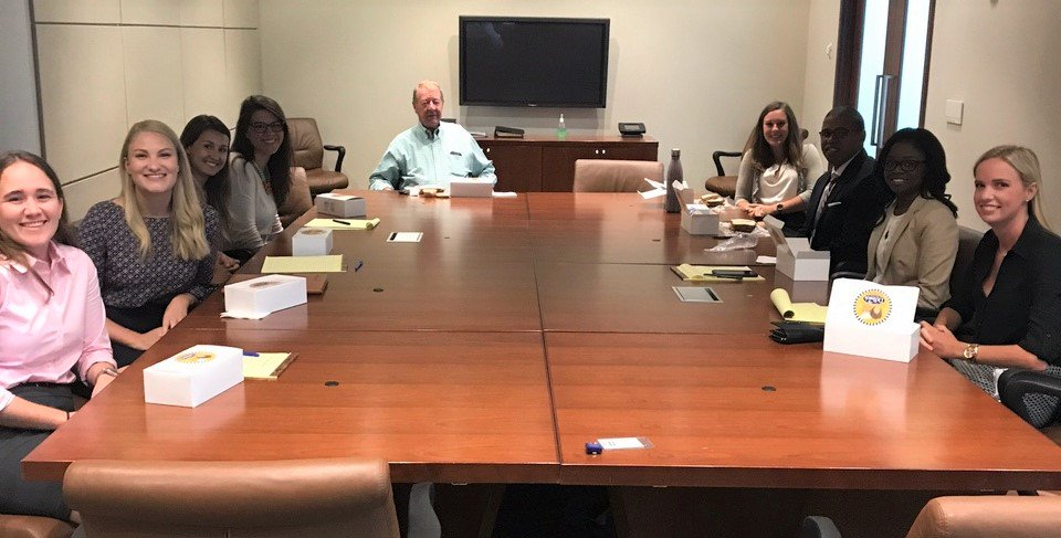 Our #Columbia Summer Associates learned about the history of @NelsonMullins from a senior partner #SummerwithNM<br>http://pic.twitter.com/UP6sfN55bq
