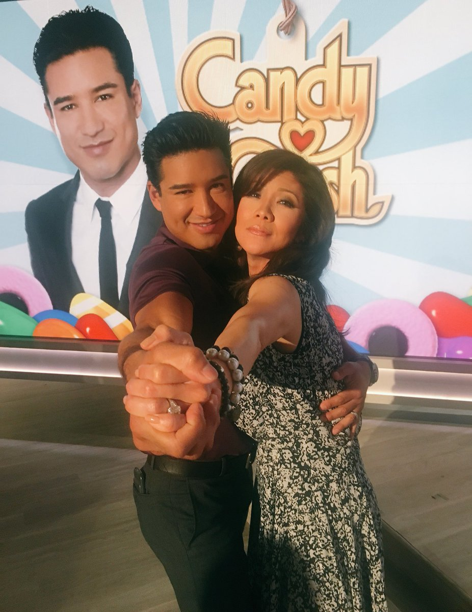 Hey @MarioLopezExtra you Crushed it today! Always enjoying doing the T...