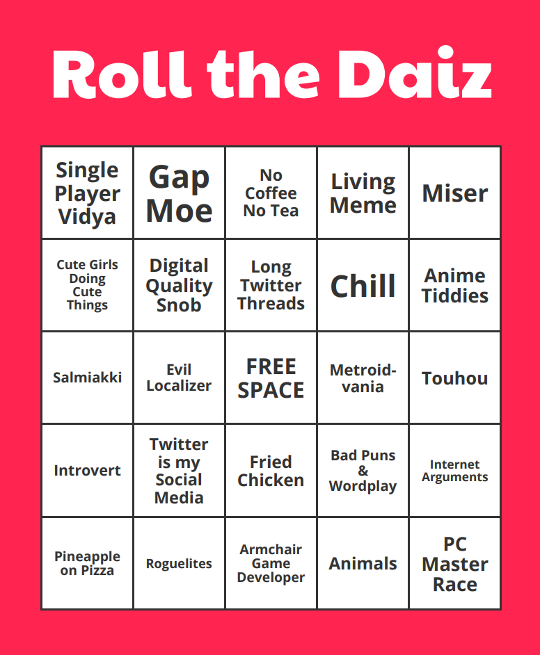 Daiz On Twitter Now That I Finally Understand This Bingo Meme I