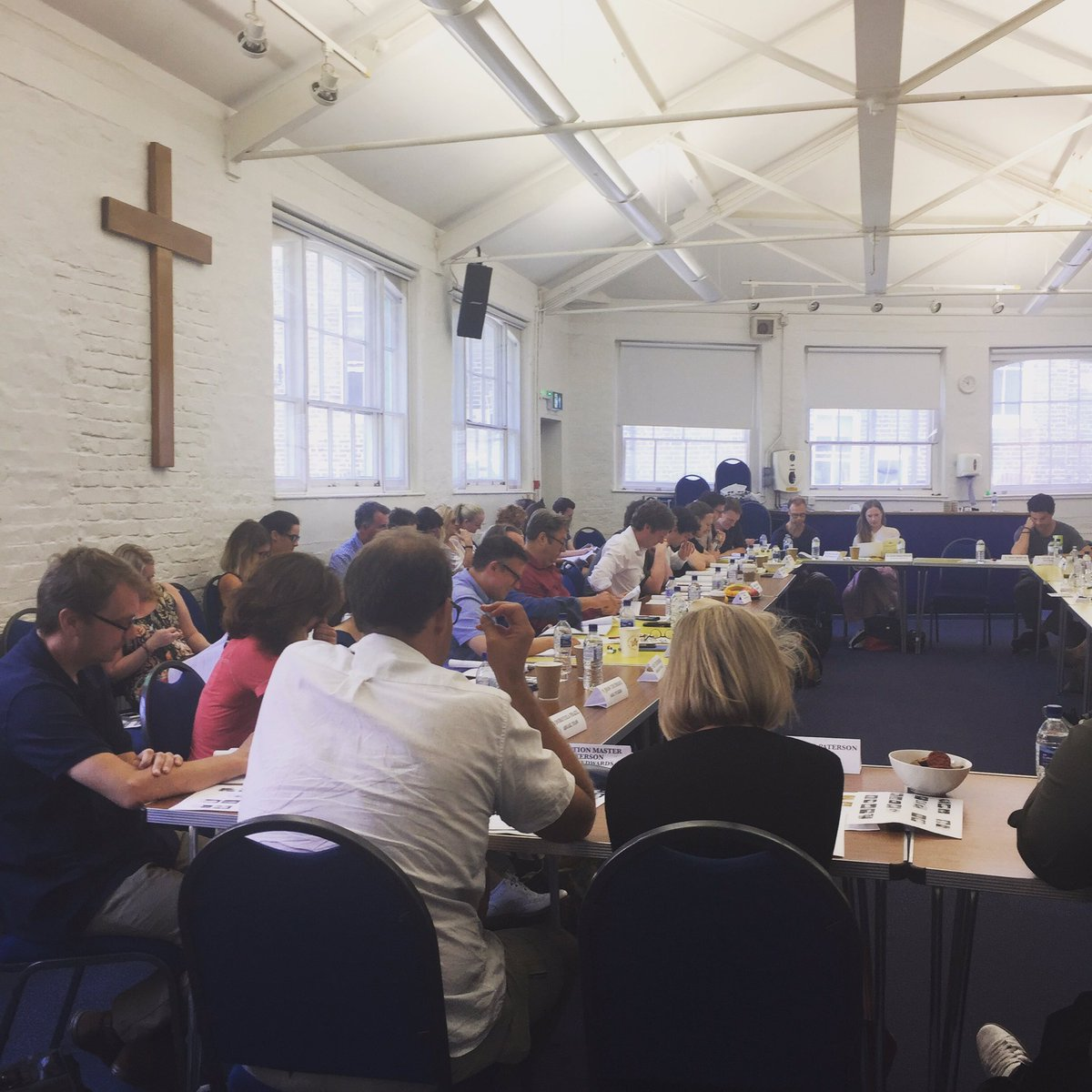 #117of196 Readthrough Film 3. Very nice AC in the Lord&#39;s house. #endeavour #productiondesign<br>http://pic.twitter.com/Clmr7JwQ9K