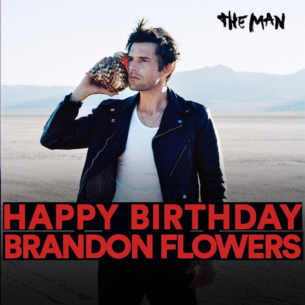 Wishing @BrandonFlowers a happy birthday! https://t.co/KNnCZVDv8p