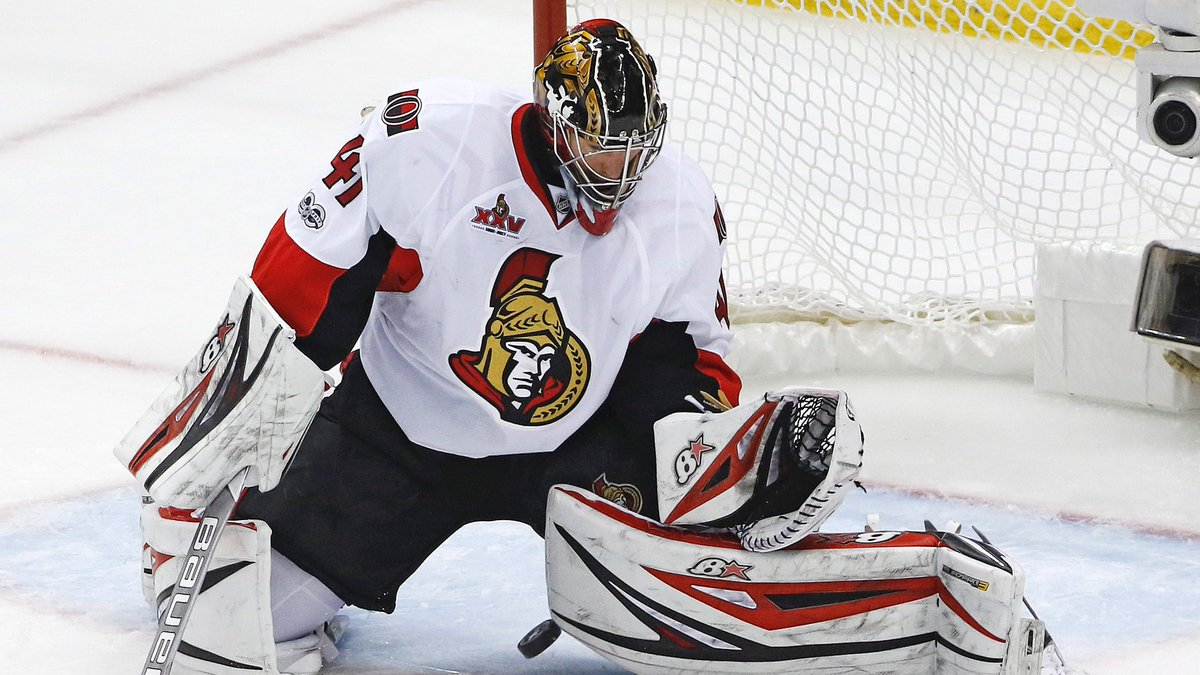 Tsn Hockey On Twitter Ottawa Senators Goaltender Craig Anderson