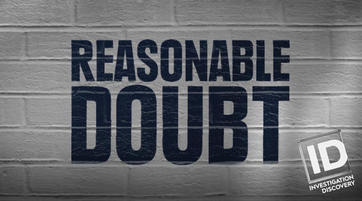 Where are our loyal #ReasonableDoubt followers? It's that time again....