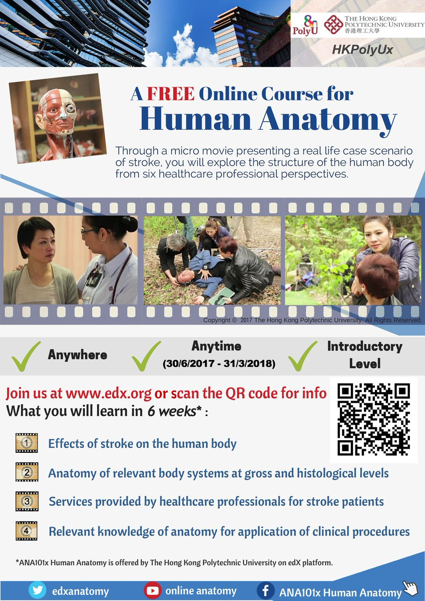 Human Anatomy Mooc On Twitter Our New Promotion Poster And You