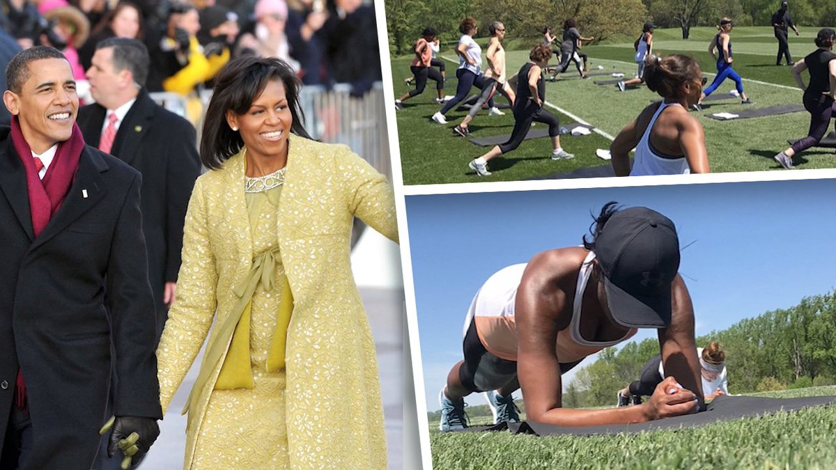 Michelle Obama better have a permit for those guns! 💪 #TMZ