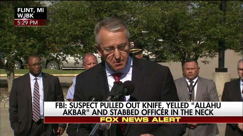 FBI: Suspect Amor Ftouhi, 50, from Canada, yelled 'Allahu Akbar' befor...