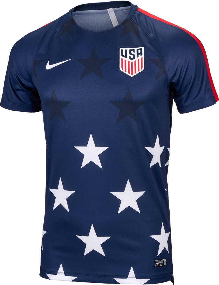0967f24bb64 And here s official photos of the USMNT Gold Cup pre-match training top  that leaked earlier this month. Probably not a purchase for  me...pic.twitter.com  ...