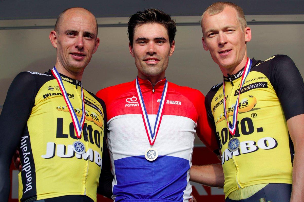 Dumoulin revalida el maillot de campeón contrarreloj de Países Bajos! 🇳🇱🤙🏻